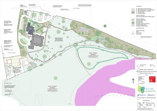 Bishops Park Abergwili Carmarthenshire - The Masterplan