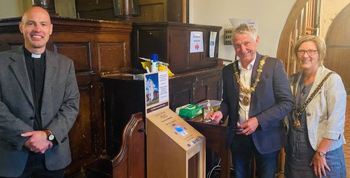 St Peter's Contactless Launch