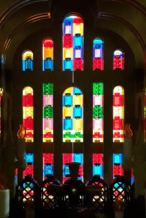 Lego Cathedral window