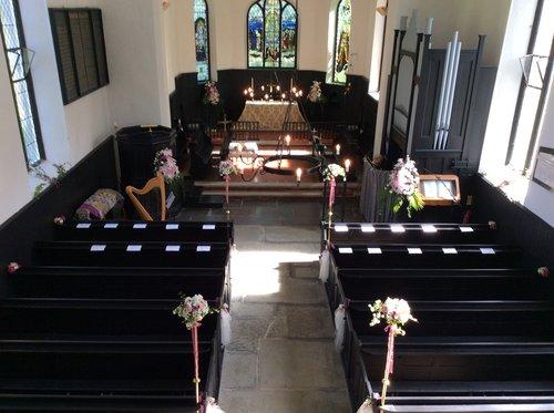 St Michael's Eglwysfach Interior