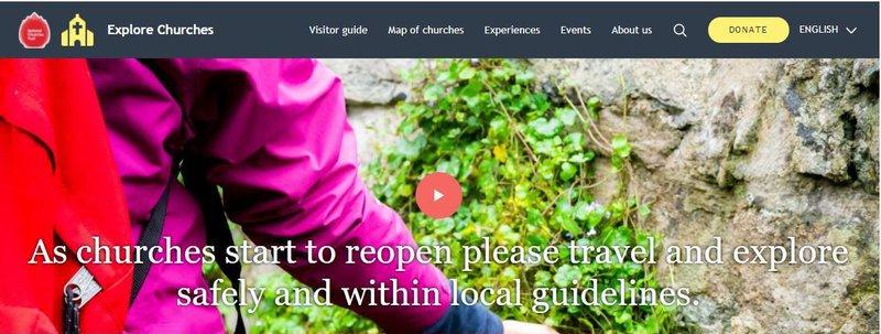 Explore Churches banner