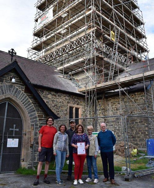 NCT Friends' Vote winners 2021 - St Michael's church, Llanfihangel y Creuddyn