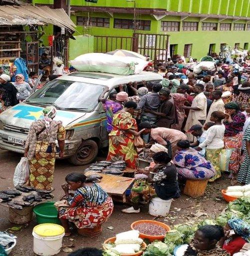 Bukavu - Kadutu market