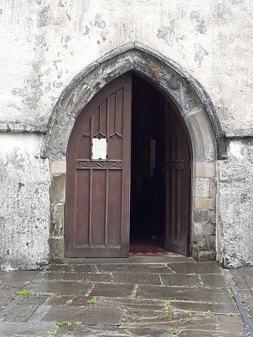 Open Church Door [St Peters Carmarthen]