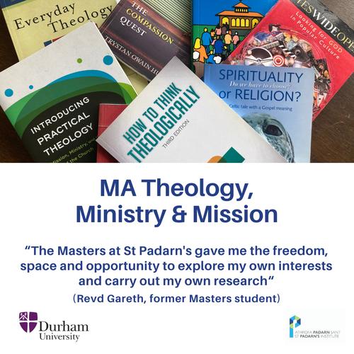 MA Theology testimonial