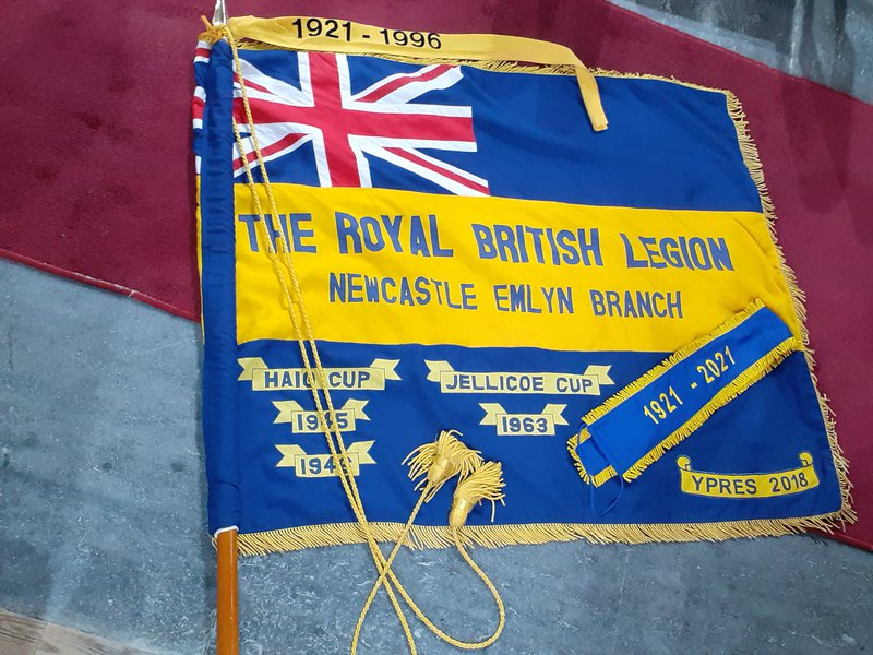 RBL Newcastle Emlyn Flag