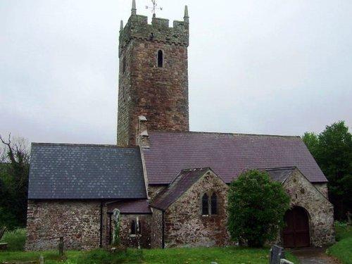 Rhoscrowdder Church [St Decuman]