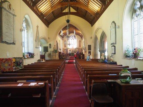 St Brynach church, Nevern [Interior]