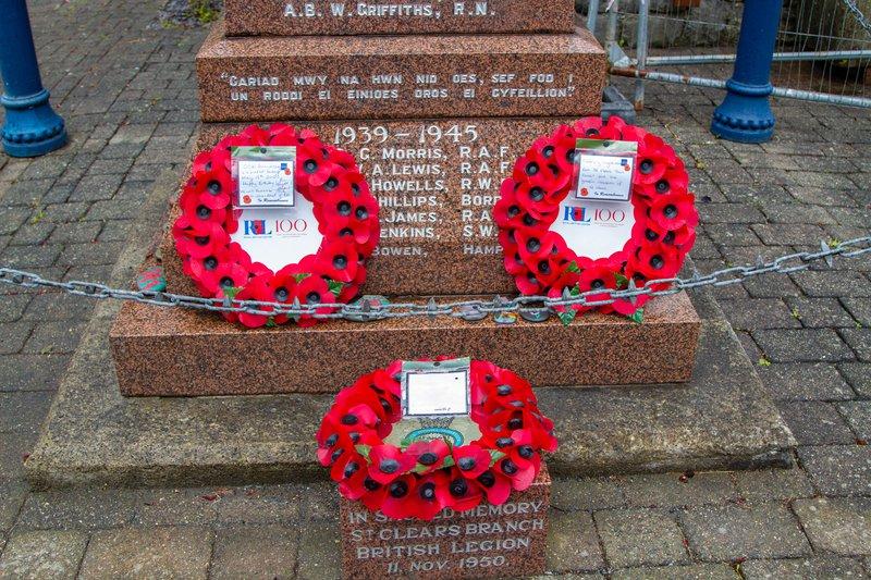 St Clears War Memorial