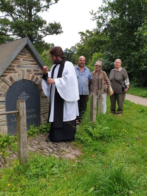 St Llawddog well blessing [c] Elizabeth Hall