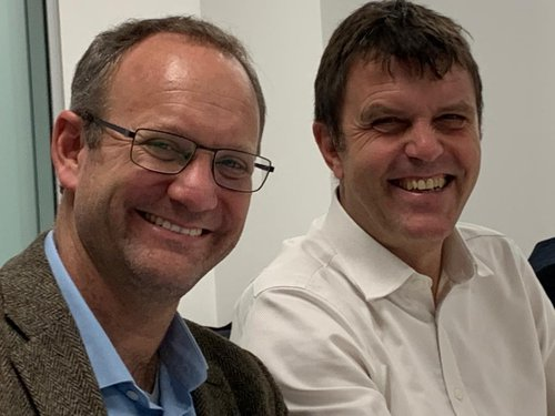 Gonzalo Muñoz and Nigel Topping [COP26]