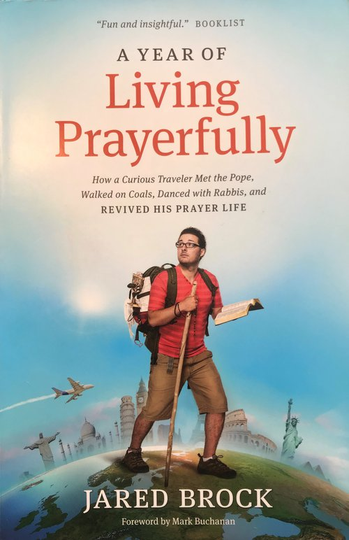 a year of living prayerfully [book cover]
