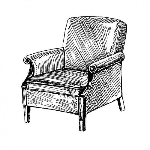 armchair-clipart