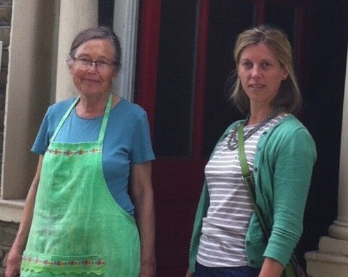 Polly Zipperlen and her Mum