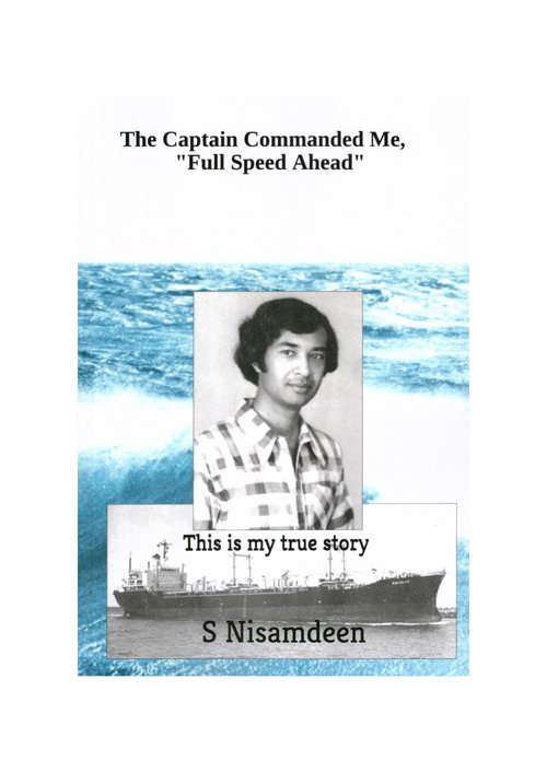 the captain commanded me [book cover]