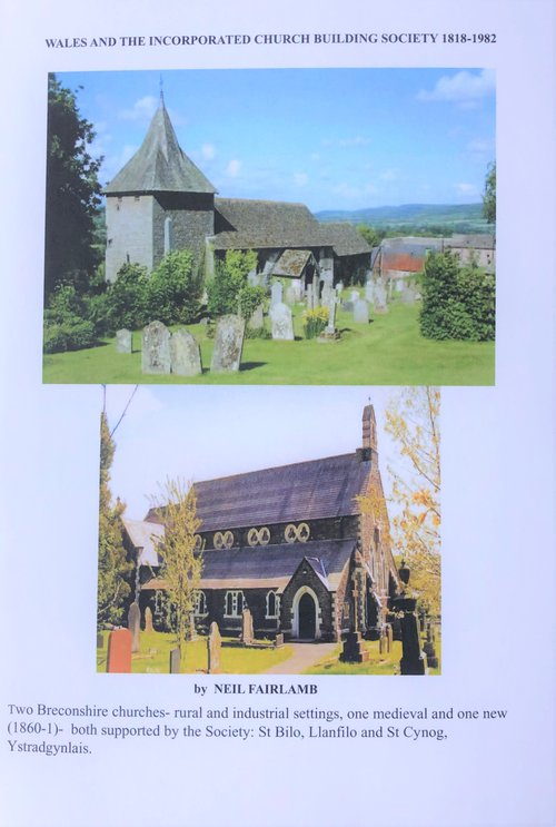 Wales and the inc church building soc book cover